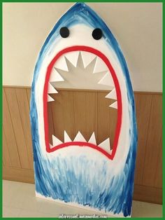 FUN photo booth prop shark for a kids luau party! FUN photo booth prop shark for a kids luau party! Fun Photo, Pool Photo, Hawaian Party, Ocean Party, Shark Party, Diy Photo Booth, Photo Booths, Under The Sea Party, Pirate Birthday