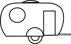 Rv Black And White Clipart - Clipart Kid