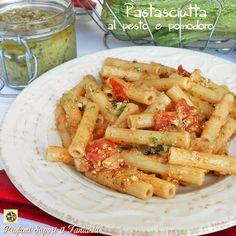 Pastasciutta+al+pesto+e+pomodoro