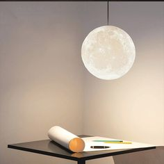 Our Printed Moon Pendant Light brings a cosmic glow to your favorite living spaces. Find creative lighting for your home or office at the Apollo Box. Room Lights, Hanging Lights, Ceiling Lights, Modern Pendant Light, Pendant Lighting, Modern Lighting, Lighting Ideas, Luxury Lighting, Houses