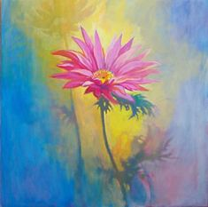 Gallery-Wrapped Canvas Print w// COA Simon Bull/'s Spring Flowers Collection