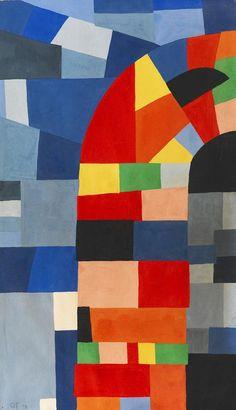 Otto Freundlich, Composition, 1938. Germany. Via Ketterer Kunst