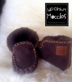 Toddlers moccasins made by Antonio Ciardulli