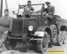 Germany Ww2, Military Vehicles, World War, Wwii, Transportation, Monster Trucks, Horror, Army, Hungary