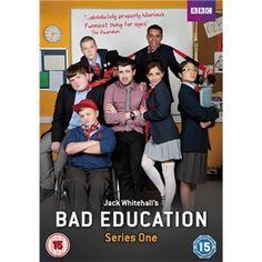 "Bad Education is a British sitcom produced by Tiger Aspect Productions for It stars Jack Whitehall as young teacher Alfie Wickers – ""the worst teacher ever to grace the British education system"" – at the fictional …<br> Jack Whitehall, John Maxwell, Bad Education Funny, Comedy Series, Tv Series, British Sitcoms, British Comedy, Bad Teacher, Great Movies"