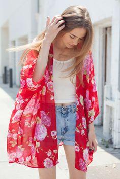 Brandy ♥ Melville   Antonia Kimono Top - Clothing