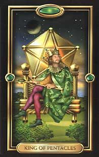King of Pentacles  Gided Tarot