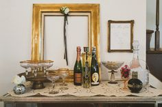 Bridal Shower, Champagne Bar, Vintage Bridal Shower, Pink - Jennifer Skog Photography Blog - Skog as in Vogue