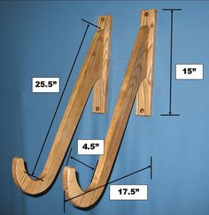 Stand Up Paddle Board (SUP) Wall Rack - StoreYourBoard.com