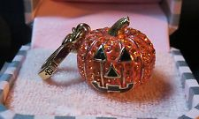 JUICY COUTURE Charm RARE 2011 LTD ED PUPKIN Halloween- Purse, Keychain YJRU5168