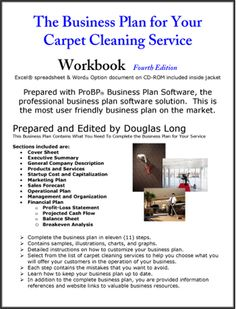 Dry cleaning business plan