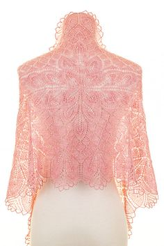 Ravelry: Amillë pattern by Emily Ross, knit rectangle shawl from the center out  Can't wait to start making it now that I have the pattern!!