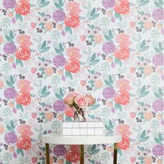Colorful floral wallpaper: http://www.stylemepretty.com/living/2016/03/16/15-patterns-that-will-make-you-crave-wallpaper-instead-of-cringe-it/