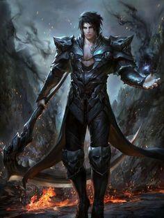 My Dear Lovely Fiancé - Character Fantasy Warrior, Fantasy Heroes, Fantasy Art Men, Fantasy Artwork, Fantasy Character Design, Character Inspiration, Character Art, Dnd Characters, Fantasy Characters
