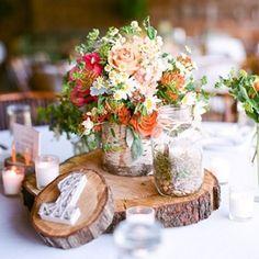 Rustic Wedding Decorations - DIY-Style