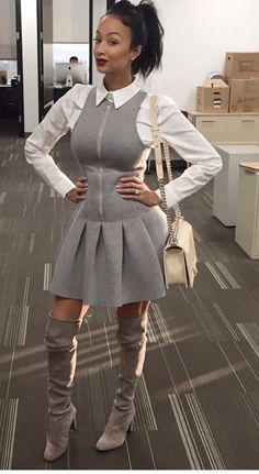 """""""- me *I do not claim to own any of the photo's used, unless otherwise stated . Classy Outfits, Girl Outfits, Cute Outfits, Fashion Outfits, Dope Fashion, Womens Fashion, Draya Michele, Pt Cruiser, Hollywood"""