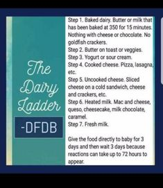 Dairy ladder