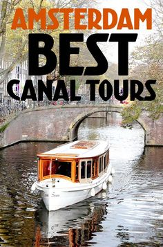TOP CANAL BOAT TOURS IN AMSTERDAM Seeing Amsterdam from the water is something you definitely do not want to miss when visiting Amsterdam. Here are a few of the most popular canal boat companies in Amsterdam and some of the different tours they offer. #amsterdam #canalboat Things to do in Amsterdam :: Things to do in Amsterdam in summer