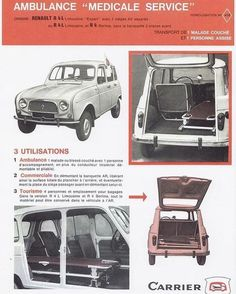 Ambulance, Matra, Limousine, Car Advertising, Police Cars, Brochures, Peugeot, Cars And Motorcycles, Vintage Cars