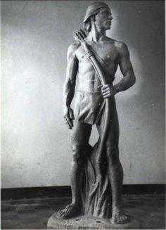 Estatua del cacique Nicarao