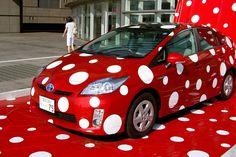"Kusama's Polka dot ""PRIUS"" Ver.1 _04 | Flickr - Photo Sharing!"