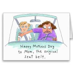 Mom,the original seat belt back in the day..
