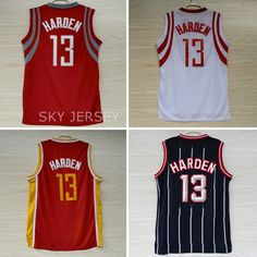 c773ab3bab1d Aliexpress.com   Buy Houston 13 James Harden Jersey