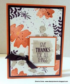 Stampin Sunshine: September Pals Blog Hop: For All Things