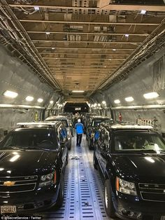 The President has 12 identical limos in rotation which are kept at Secret Service headquarters under 24-hour surveillance