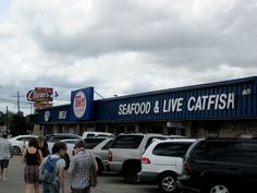 Tony's Fish Market, Baton Rouge LA> seriously i have yet to find better boiled seafood or boudin balls