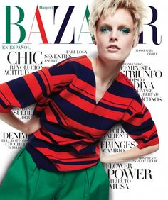 Hanne Gaby Odiele by Xavi Muntané for Harper's Bazaar Mexico & Latam April 2015 [Cover]