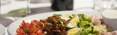 Cobb Salad at Rendevous Bistro, Jackson, WY Jackson Hole Restaurants, Grubs, Fine Dining, Cobb Salad, Menu, Yummy Food, Dishes, Menu Board Design, Delicious Food