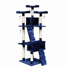 Generic Cat Tree Tower Condo Furniture Scratching Post House Small Medium Cats -- Discover this special cat product, click the image : Cat Tree