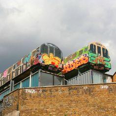 Graffitti Trains