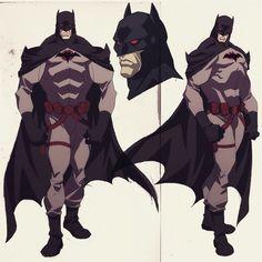 Flashpoint Batman aka Thomas Wayne after the murder of his son Bruce Wayne