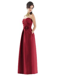 Alfred Sung Style D497 http://www.dessy.com/dresses/bridesmaid/d497/