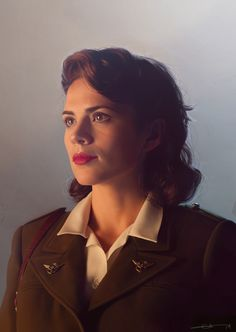 Agent Peggy Carter This has got to be the single most gorgeous depiction of Peggy! Amazing! :D