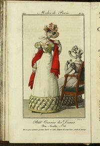 Petit Courrier des Dames : annonces des modes, des nouveautés et des arts del 30 de Marzo de 1822