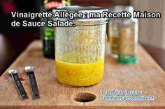Notre astuce pour se régaler d'une bonne salade sans l'alourdir avec une sauce est toute simple.  Découvrez l'astuce ici : http://www.comment-economiser.fr/recette-vinaigrette-allegee.html?utm_content=buffer380bf&utm_medium=social&utm_source=pinterest.com&utm_campaign=buffer