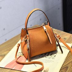 Stylish PU Leather Small Square Shoulder Bag Multi-pockets Crossbody Bag For Women is Worth Buying - NewChic Mobile.