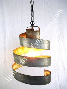 Wine Barrel Ring Hanging Pendant Light By Winecountrycraftsman 65 00