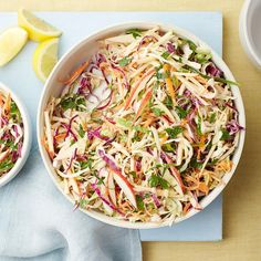 Lemony Coleslaw with Apples | Weight Watchers Canada
