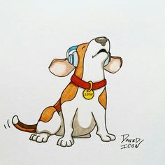 dog Clipart | Beagle Dog Cartoon by ~timmcfarlin on ...
