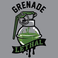 Grenade Gloves II by Jon Ramirez