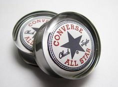 Converse All Stars Chuck Taylor Plugs 0g 00g 7/16 by SuperPlugs, $19.95