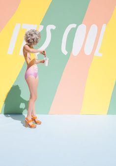 Pastel Vibes :: Summer Dreams :: Pretty + Vintage :: See more Decor Design + Colour Inspiration