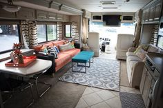 Before & After: The Amazing 6-Day RV Makeover — Renovation Project - not tiny but still inspiring