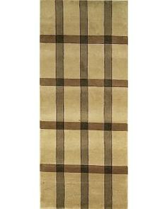 Handmade Rectangular Modern Style Runner Area Rug in Gold, Clearance Area Rugs, Rug Runners, Contemporary, Modern, Wool Rug, Antiques, Handmade, India, Vintage