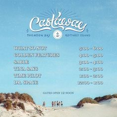 SUN 21th FEB  CASTAWAY FESTIVAL  Thompson's Bay Rottnest Island From:12pm  6.15pm  WHAT SO NOT   GOLDEN FEATURES   SABLE   TINA SAYS   Run for your Tickets onsale via castawayfestival.com.au  @whatsonot_certified @goldenfeatures @tinasays_  #rottnestisland #castawayfestival #PERTH #wa #australia #thomsonbay #party #festival #sunday #sundaysession by per_today http://ift.tt/1L5GqLp