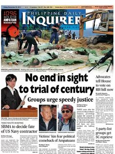 Three Years After This day marks the year, the day of the gruesome Ampatuan Massacre, a horrible event in our history where 58 people were killed, 34 of whom were journalists or working. Third, November, Politics, History, Movie Posters, Film Poster, Popcorn Posters, History Books, Political Books